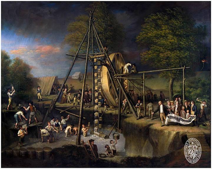 """Puzzle - """"Exhumation of the Mastodon"""" 100 pcs"""