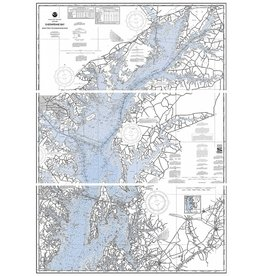 Chesapeake Bay Print, Matted