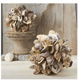 Oyster Shells Decorative Ball - Small