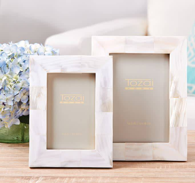 Mother Of Pearl Photo Frame 4x6