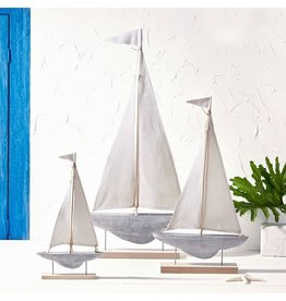 Sailboat Sculptures on Stand, Large