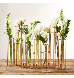 Hinged Flower Vases, Set of 10