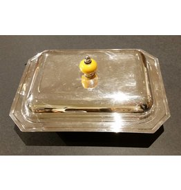 Italian Silver-plated Vegetable Dish with Lid