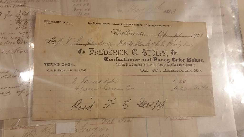 Frederick C. Stolpp Document