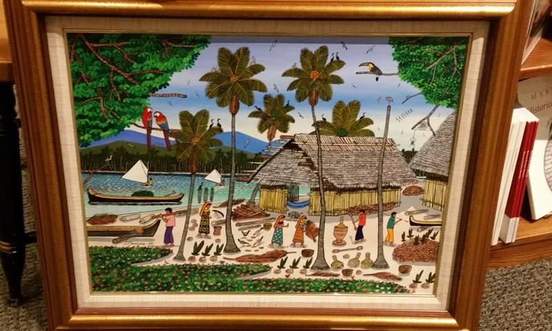 Framed Painting - L. Mendez 1992
