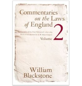 Commentaries on the Laws of England, Vol. 2 (Used)