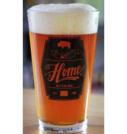 Home State Apparel Home State Apparel - Diamond Pint Glass
