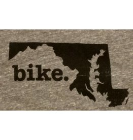 Home State Apparel bike. Tank Top Large