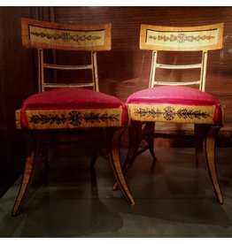 Pair of Miniature Benjamin Latrobe Chairs