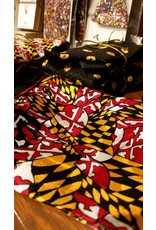 Maryland Flag Design Ladies Scarf