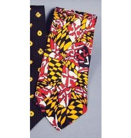 Maryland Flag Design Tie
