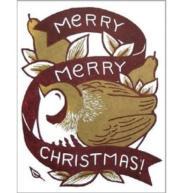 6-ct. Boxed Greeting Card Set - Christmas Partridge