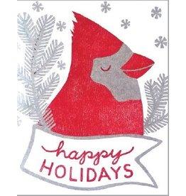 6-ct. Boxed Greeting Card Set - Holiday Cardinal