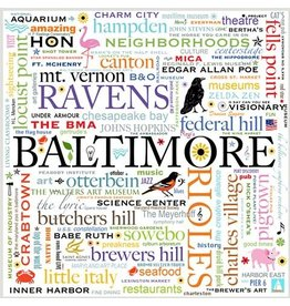 Maggie Stewart Design Note Card Set - Baltimore