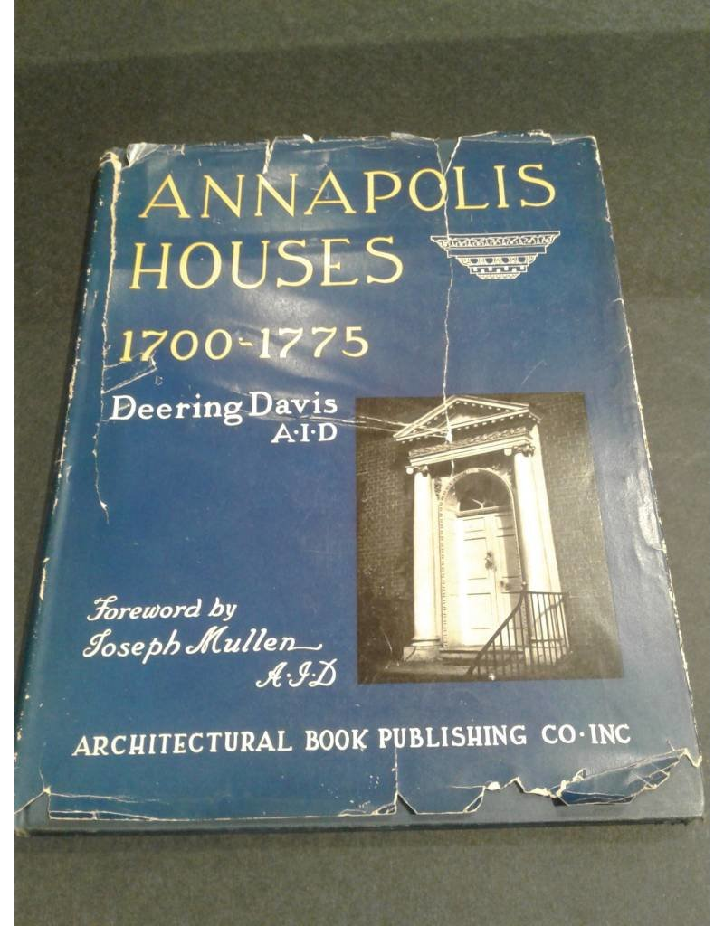 Annapolis Houses 1760-1775 (used)