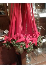 Set of 6 Ribbons with Silver Bells
