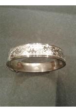Sterling Repousse Bracelet