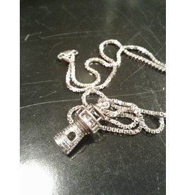 Sterling Lighthouse Necklace