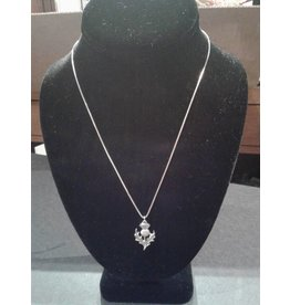 Sterling Thistle Necklace