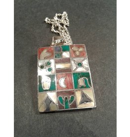 Sterling & Mother of Pearl Pendant