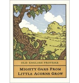 Arts & Crafts Press Card - Mighty Oaks