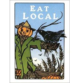 Arts & Crafts Press Card - Eat Local