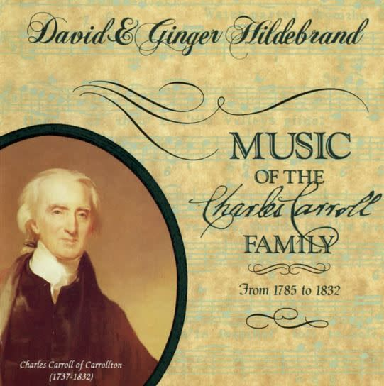 Music of the Charles Carroll Family CD