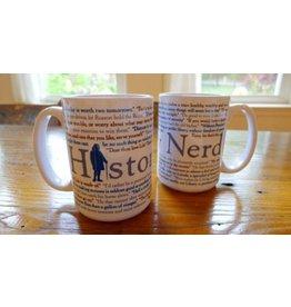 The History List History Nerd Mug