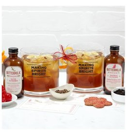 Bittermilk Mix Set, Holiday Edition - Gingerbread Old Fashioned