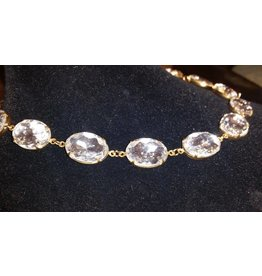 Collet Necklace - Clear