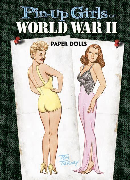 Pin-Up Girls of World War II: Paper Dolls
