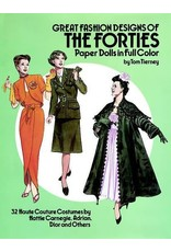 Great Fashions Colors of the Forties: Paper Dolls