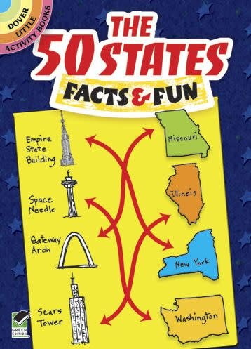 The 50 States Activity Book
