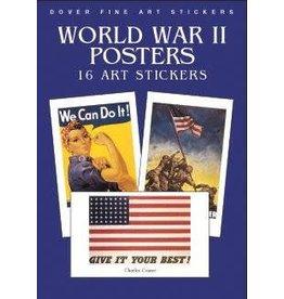 World War II Posters: 16 Art Stickers