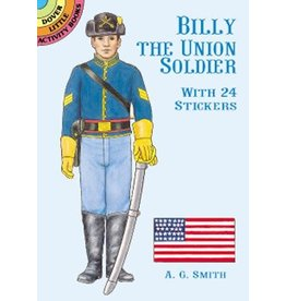 Billy the Union Soldier Sticker Book