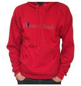 "The History List Red ""History Nerd"" Sweatshirt"