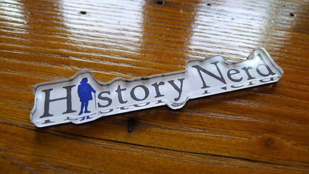 The History List Acrylic History Nerd Magnet