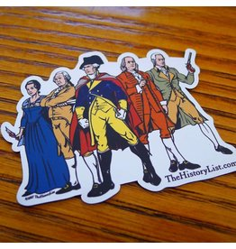 The History List Revolutionary Superheroes Magnet