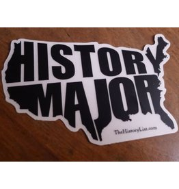 The History List History Major Sticker