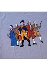 "The History List Blue ""Revolutionary Superheroes"" Shirt"
