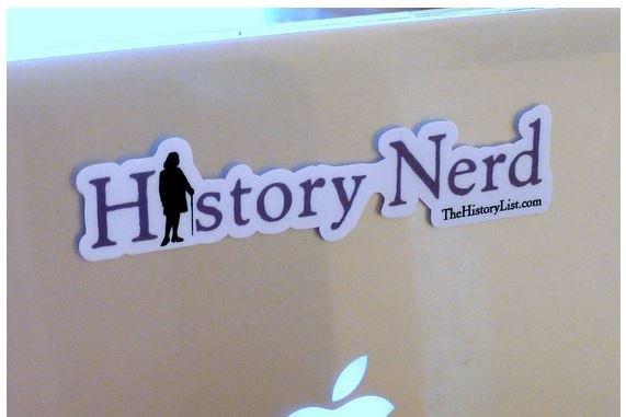 The History List History Nerd Sticker