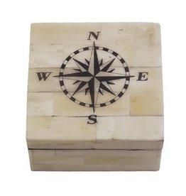 Bone Box - Compass Rose