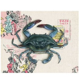 Print by Emily Uchytil - Atlantic Blue Crab