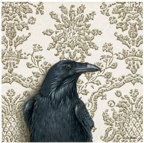 Print by Emily Uchytil - Raven