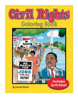 Civil Rights Coloring & Activity Book