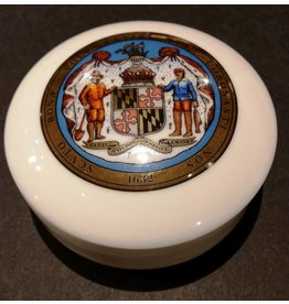 Maryland Seal Ceramic Trinket Box