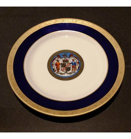 Maryland Seal China Plate 10""