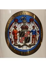 Maryland Seal Ceramic Coaster
