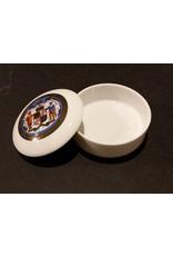 Maryland Seal Ceramic Trinket Box