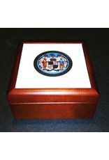 Maryland Seal Wooden Keepsake Box